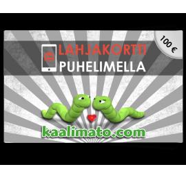 Kaalimato.com 100€ lahjakortti