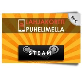 Steam 20€ lahjakortti